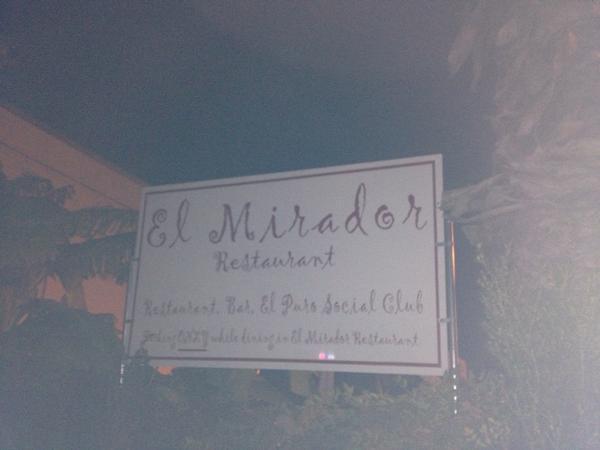 Mirador hits up The Mirador at #hsjTX #JournalismC...