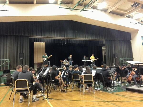 Great job to everyone who performed in today's tal...