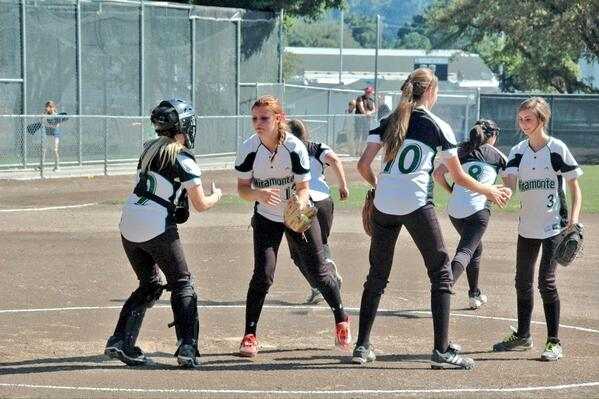 Lady Mats softball falls 0-10 to the Acalanes Dons...