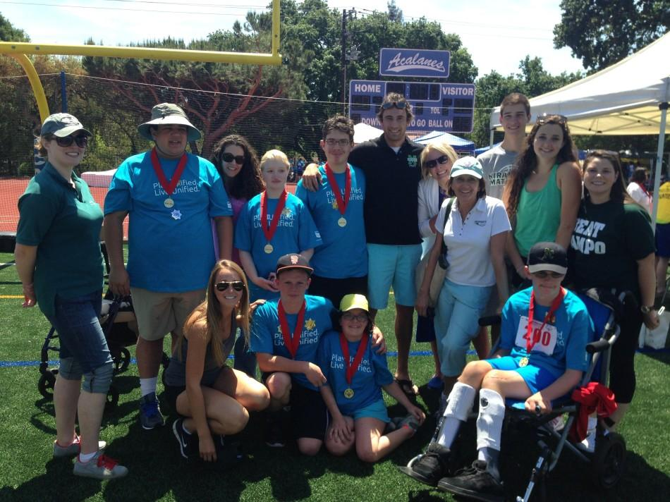 Mats Excel in Special Olympics