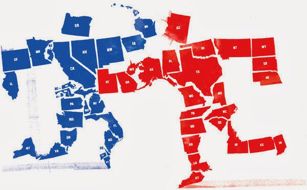Where do the Republican and Democratic party belie...