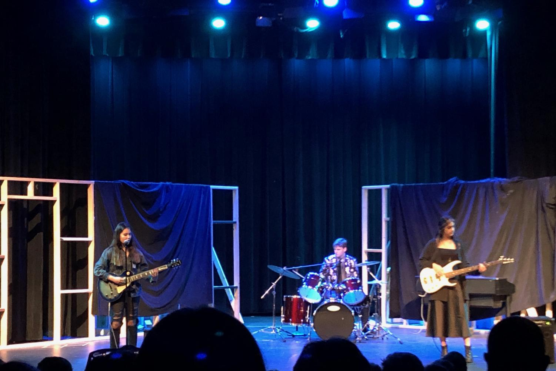 Juniors Sydney Heim, Alex Meckes, and Grace Sjoberg's band