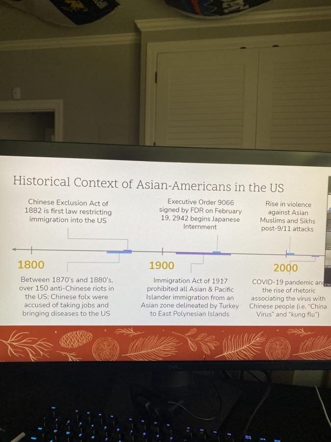 Wellness Center Hosts Zoom to Give Support During Recent Asian American Hate Crimes