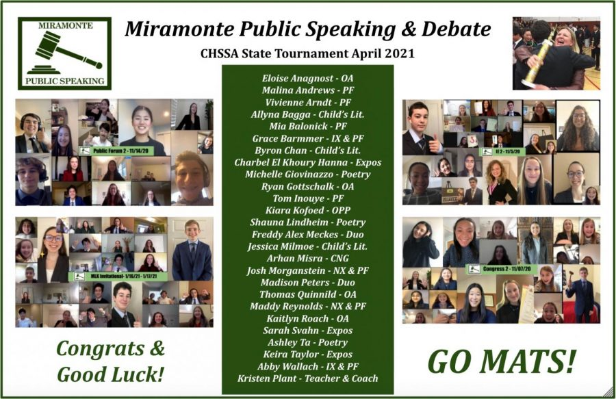 Student's Compete in Public Speaking State Championship